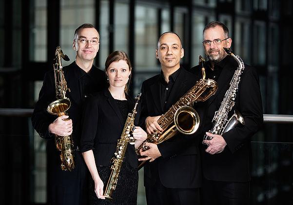 Koncert med Jutlandia Saxofonkvartet